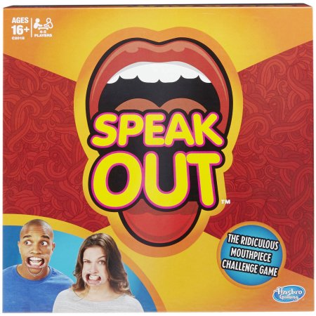 Speak Out' Game from Hasbro