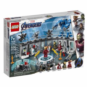 LEGO Marvel Avengers Iron Man Hall of Armor 76125 Building Kit - Marvel Tony Stark Iron Man Suit Action Figures (524 Pieces)